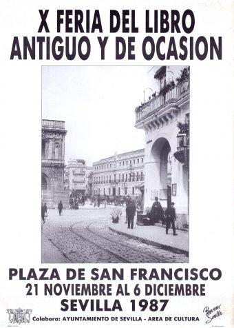 Feria del Libro Antiguo y de Ocasión de Sevilla 1987