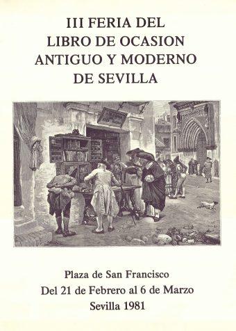 Feria del Libro Antiguo y de Ocasión de Sevilla 1981