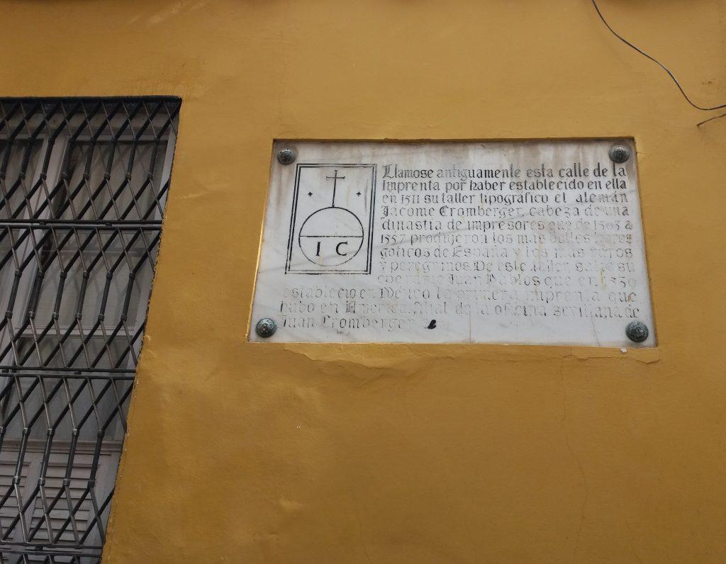Imprenta Cromberg Sevilla
